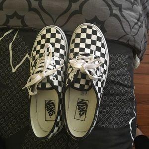 Vans checkered classics